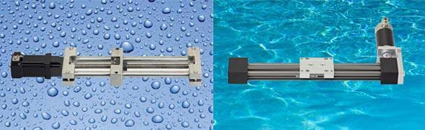 drylin® E  NEMA23 IP65 (spray water) and IP68 (submerged) motors with encoder - null