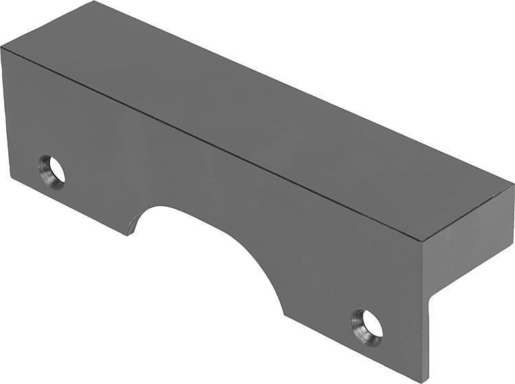 Mors de serrage avec surépaisseur d'usinage - Etau de bridage 5 axes compact