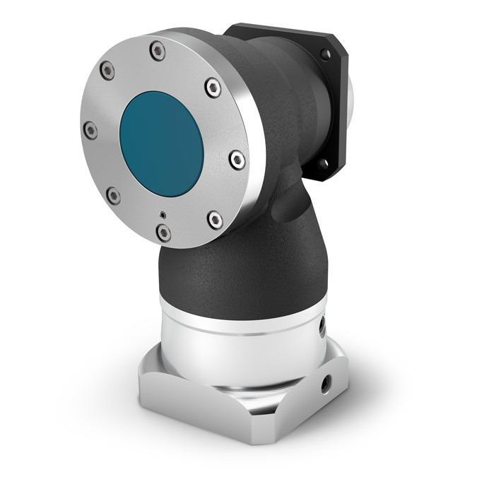 Winkel-Planetengetriebe WPLN - Präzisionsgetriebe mit Abtriebswelle - Hypoidverzahnte Winkelstufe -  IP65
