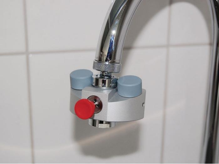 Mini ducha lavaojos Eyes Fresh - Equipos de protección para la industria y el laboratorio