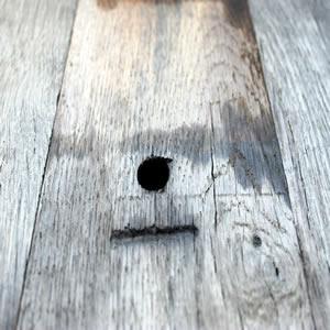 Plancher en fond de wagon - Plancher de wagon en vieux chene