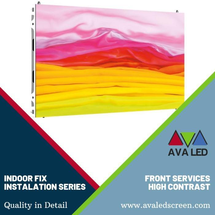 AVA LED TN-PRO-IF Serie - Afișaj LED AVA interior, instalare de service frontal