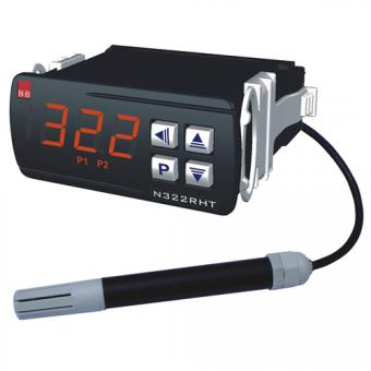 Controller N322 for humidity and temperature - Indicators and controllers