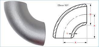 4130 90 degree Elbow - 4130 90 degree Elbow