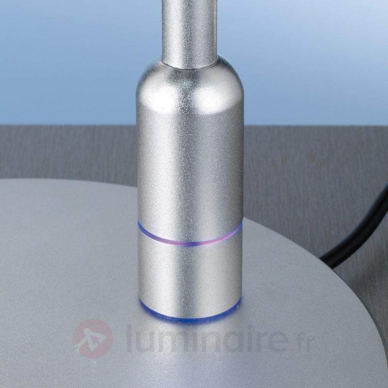 Lampe de bureau LED ronde JUBY - Lampes à poser LED