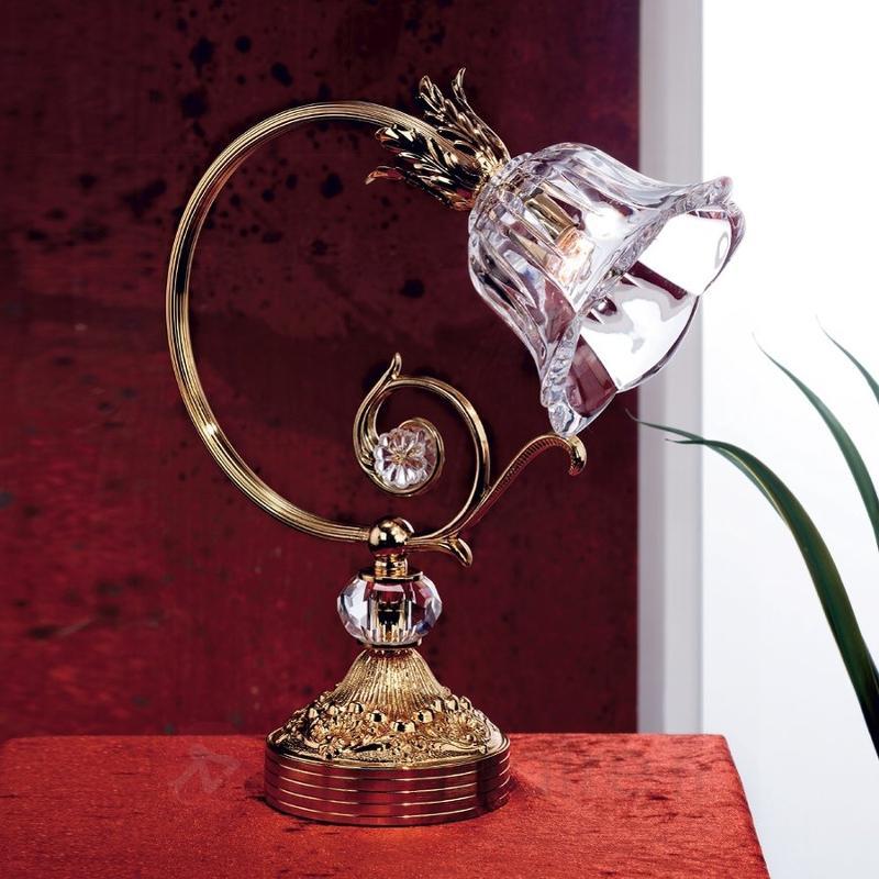Lampe à poser d'apparence romantique KAISA - Lampes à poser classiques, antiques