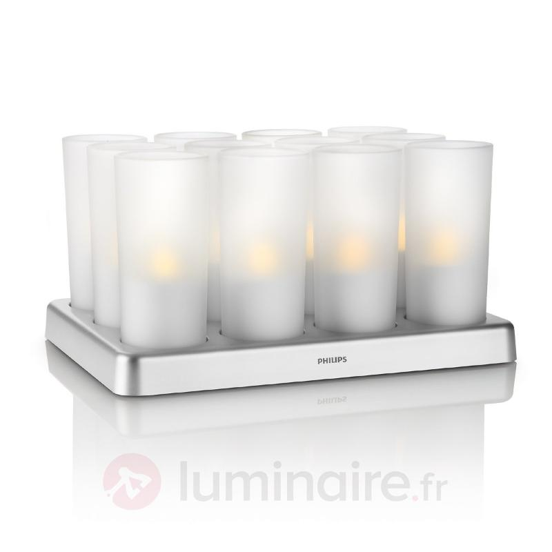 Set de 12 Candle Light IMAGEO avec Power LED - Bougies LED