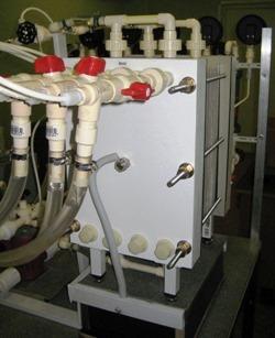 Биполярный электродиализ - Получение кислот и щелочей из водных растворов солей