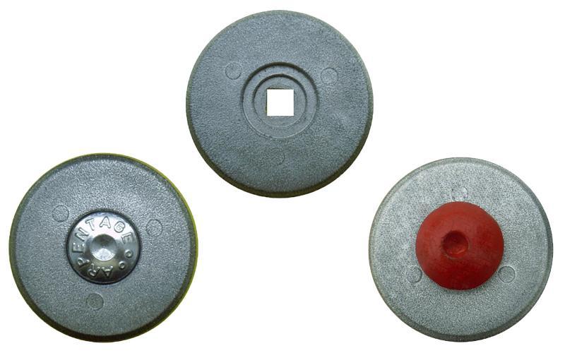 CLOUS DE REPERAGE - RONDELLE D'ARPENTAGE 70 mm grise par 10