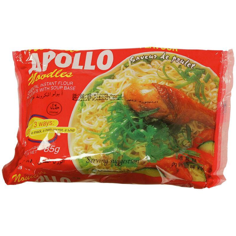 Nouille au poulet Halal 85g - APOLLO - Nouille au poulet Halal 85g - APOLLO