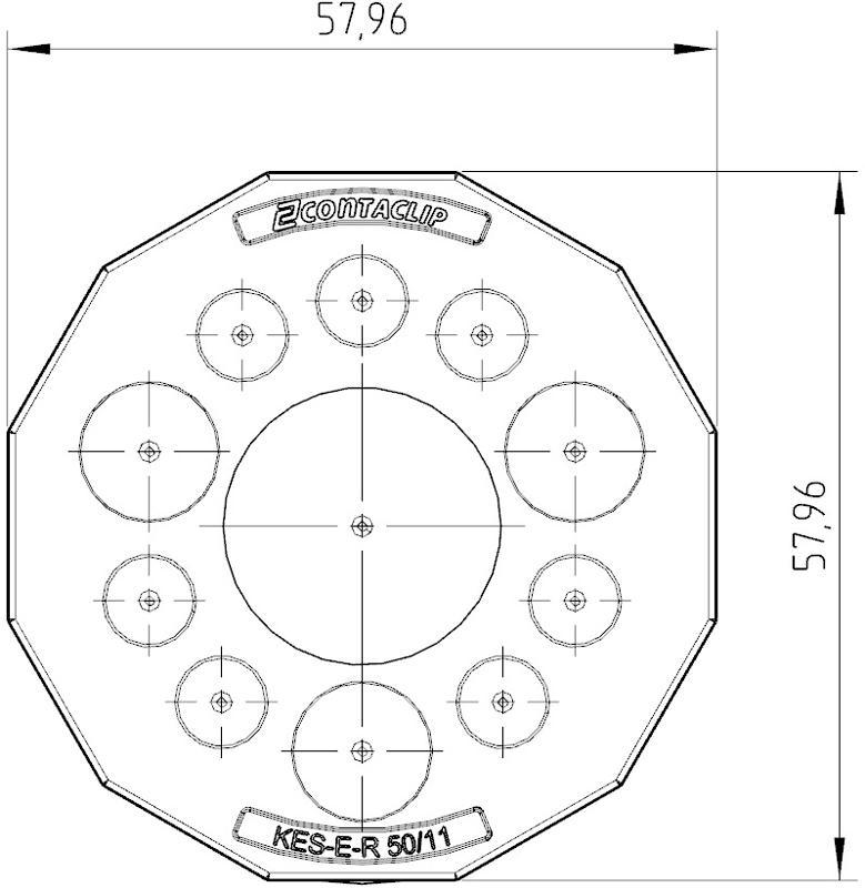 KES-E-R 50/11 A GR | Kabeleinführung - null