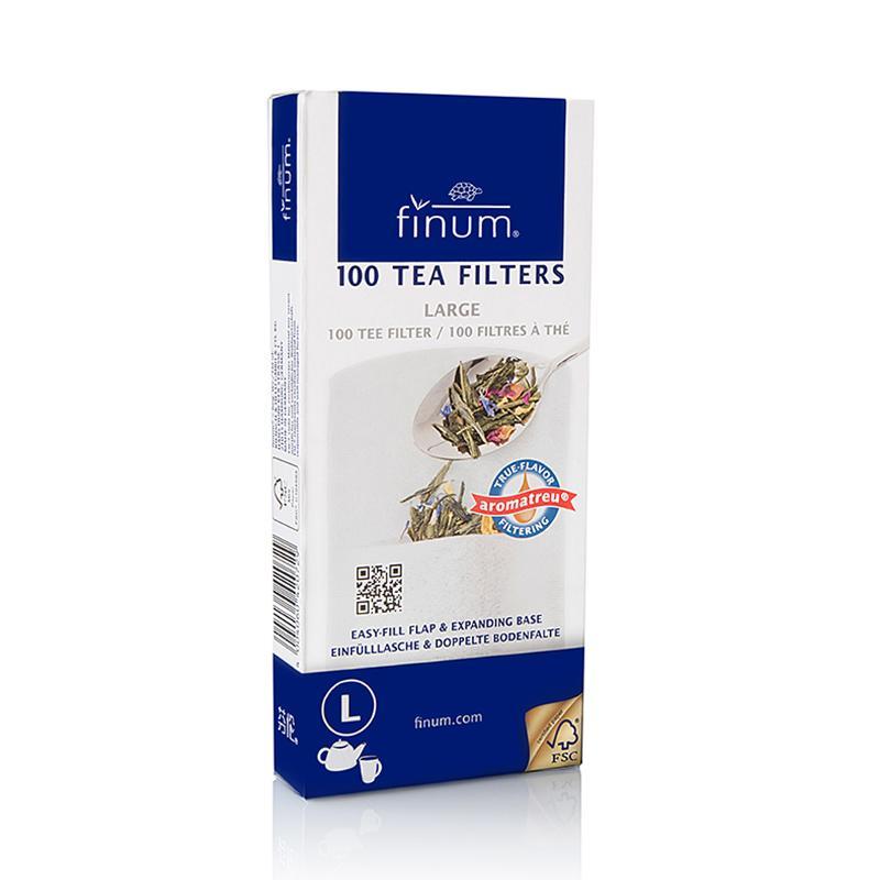 Tea Filters - True flavor filters from FSC-certified, biodegradable