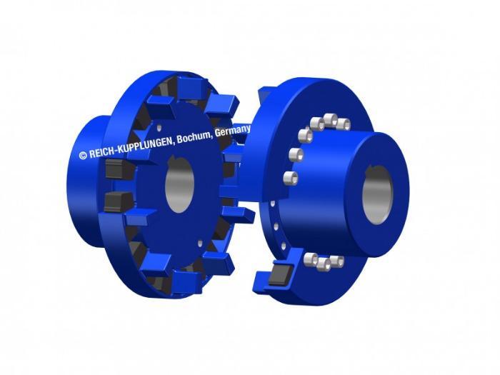 MULTI MONT DEKA | MMD - 扭转弹性爪形联轴器 MULTI MONT DEKA | MMD
