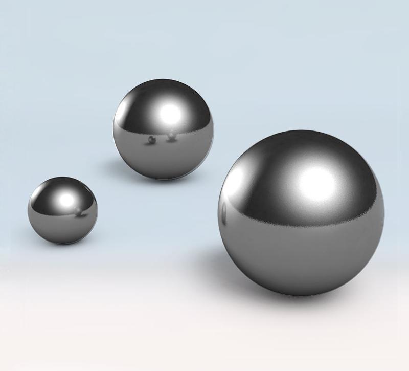 Steel balls - null
