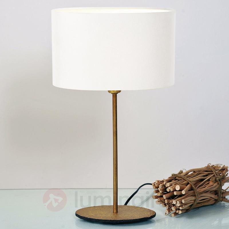 Lampe à poser lavable Mattia Oval - Lampes à poser en tissu