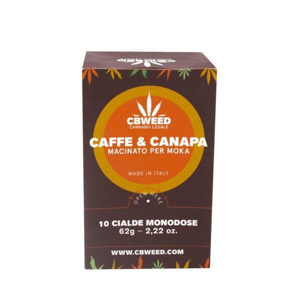 Caffè Alla Canapa Cbweed 10 Cialde Monodose - null