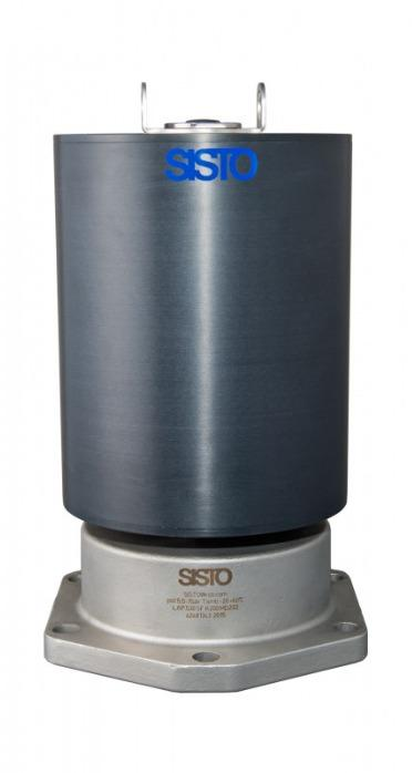 SISTO-C Bonnets with piston actuator - piston actuator, MD168-202, >=80 °C, Stainless steel actuator housing or Alu