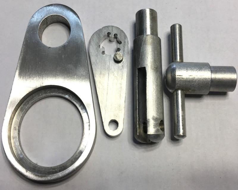 Aluminum Machined parts - custom aluminum parts according to clients' drawing or sample