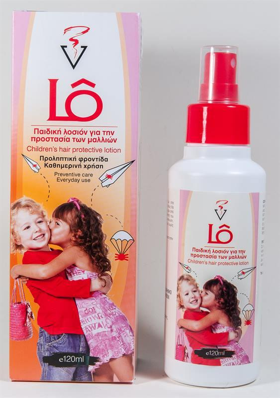 Lice protective lotion - CHILDREN'S HAIR PROTECTIVE LICE LOTION