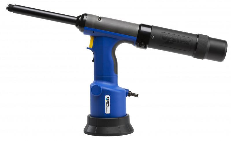 TAURUS® 1 Speed Rivet - Le pistolet à river oléopneumatique avec chargeur et temps de cycles courts