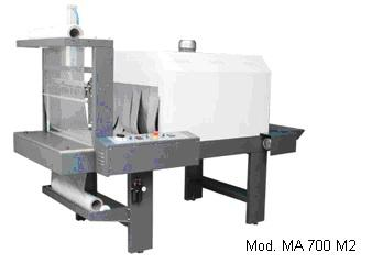 MONOBLOC SLEEVE WRAPPER SLIM LINE (FARD.MANUALE 2BOBINE) - MA 500 M2 – MA 700 M2 – MA 900 M2 – MA 1250 M2