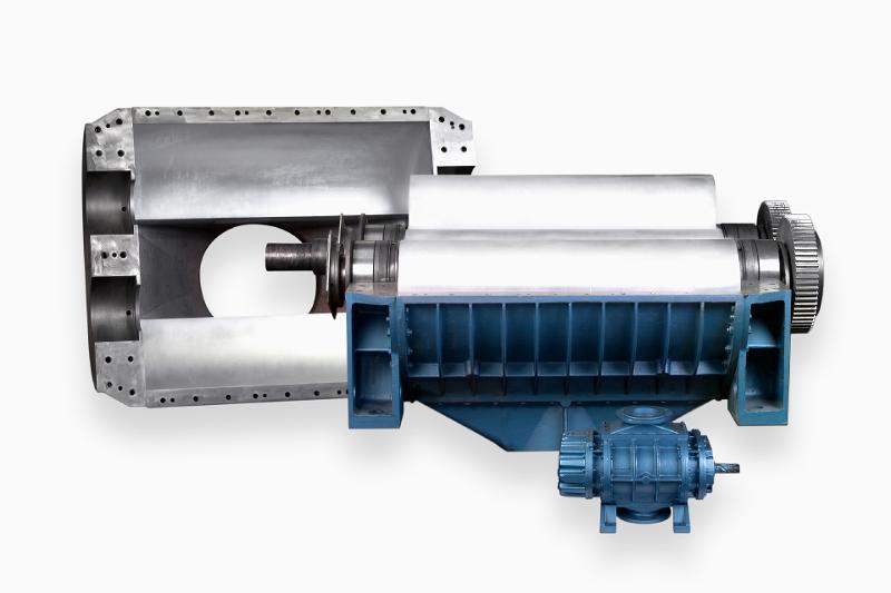 Rotary piston blower - null