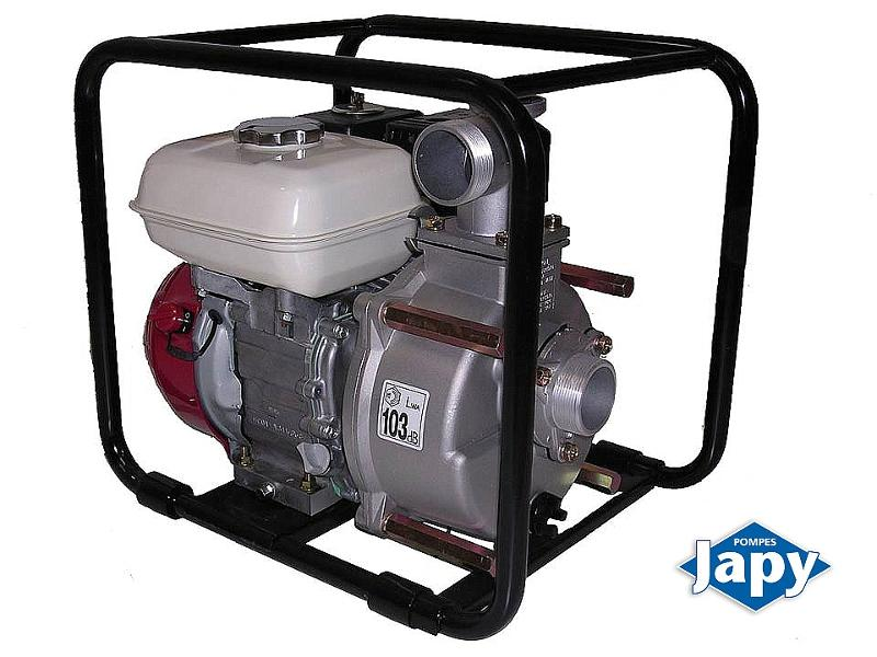 Self-priming centrifugal motor pump - MOTOR PUMP - WATER WITH SOLIDS CONTECT