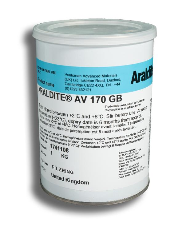 Araldite AV 170 GB Epoxidharz HUNTSMAN | 1 kg - ARA-AV170-1