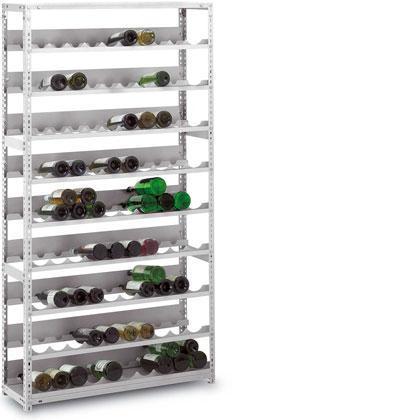 Flaschenlager Stecksystem und Schraubsystem - null