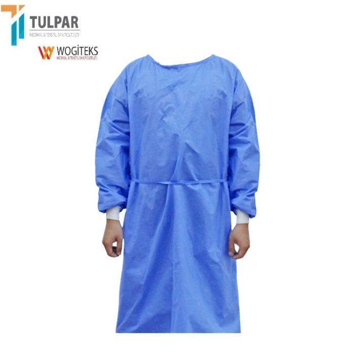 EN13795 SMMS level 3  disposable reinforced  sterile gown - EN13795 SMMS level 3  disposable reinforced  sterile gown