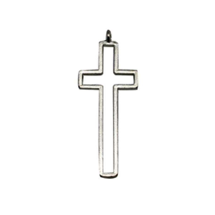 60x CROIX CONTOUR ARGENT 1,5H4CM - Communion