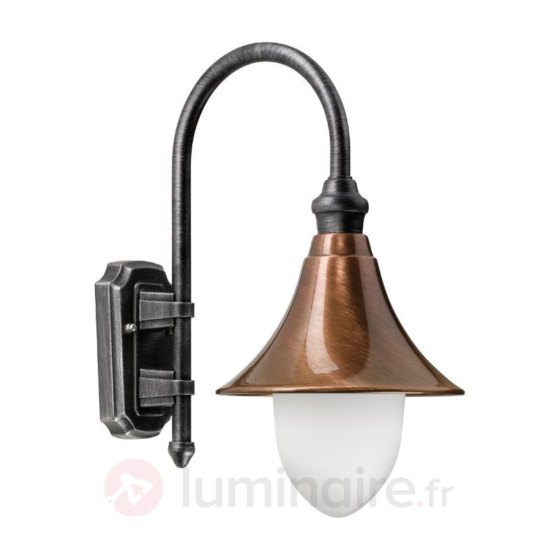 Applique d'extérieur classico-moderne Elisa - Appliques d'extérieur cuivre/laiton
