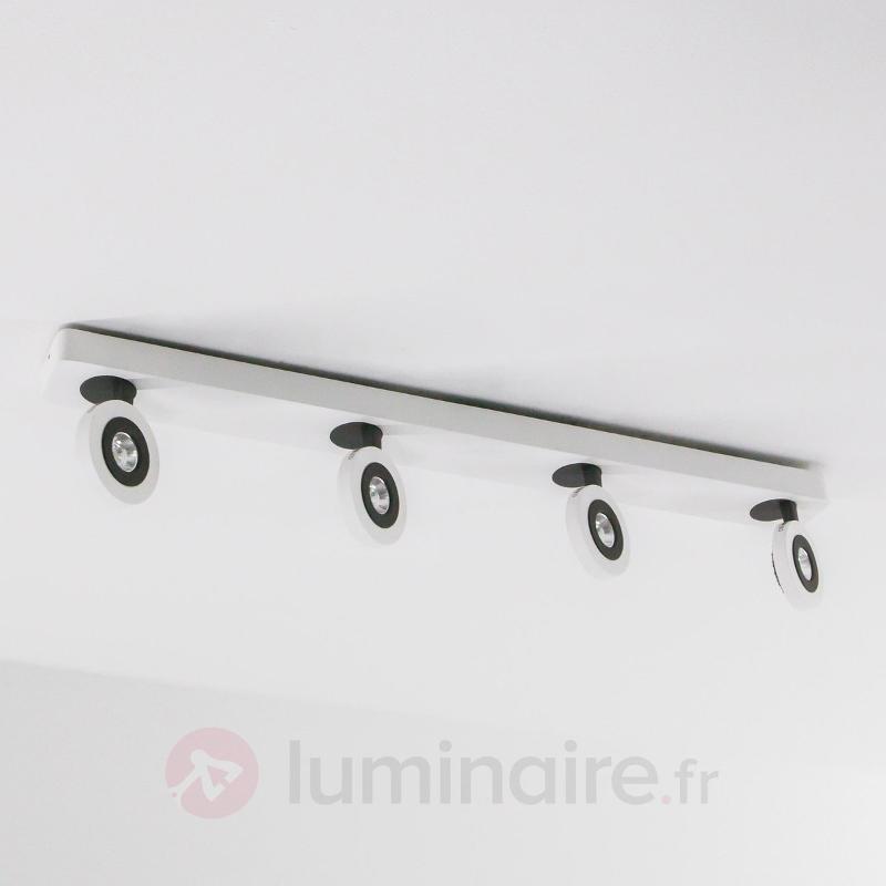 Plafonnier spot LED Cassandra à 4 lampes - Plafonniers LED