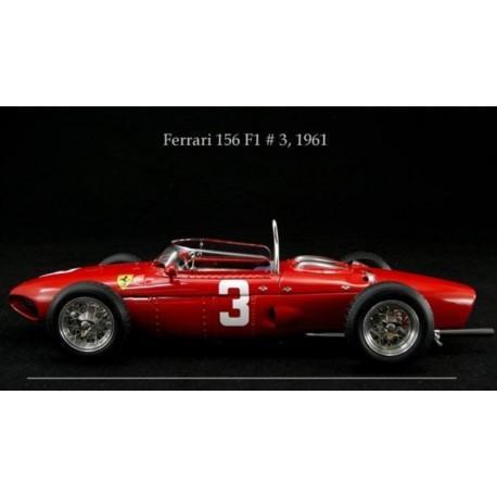 Ferrari Dino Sharknose 156 n° 3, Nürburgring 1961, 1/18