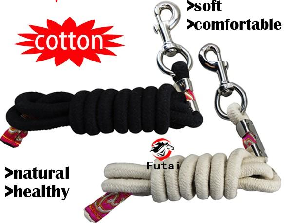 cotton horse lead rope ,pet's lead rope,13MM thick - horse lead rope,pet's lead rope,cotton material,20MM thick