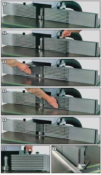 Guide à barrete Aigner 650mm + 500mm - null