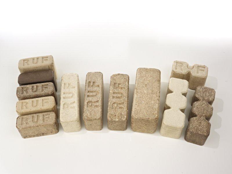 RUF LIGNUM series - Briquetting press for wood