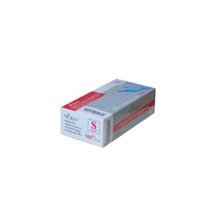 BOÎTE DE 100 GANTS EXAM NITRILE NST NP - EN455-1-2-3-4, et/ou EN374-1-4-5 virus, et/ou Contact alimentaire