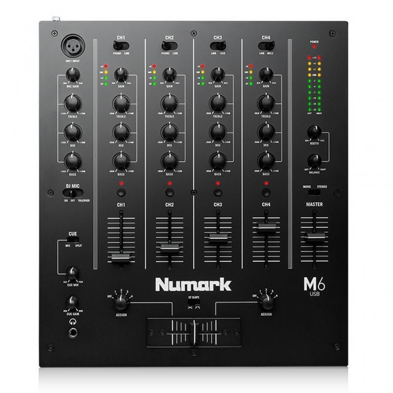DJ-Mixer - Numark M6 USB Black