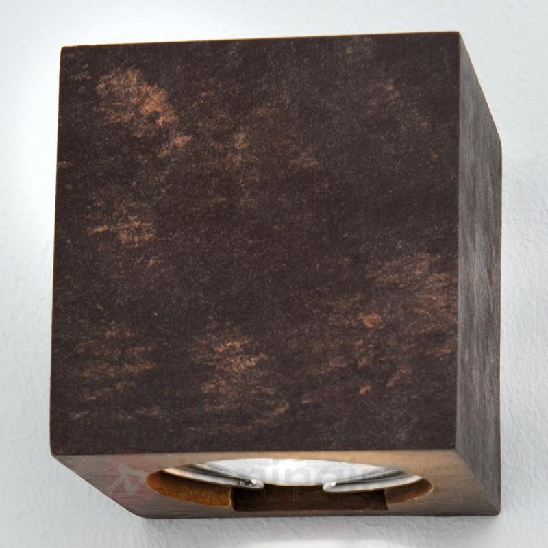 Applique en plâtre Ivona, éclairage descendant - Appliques en plâtre