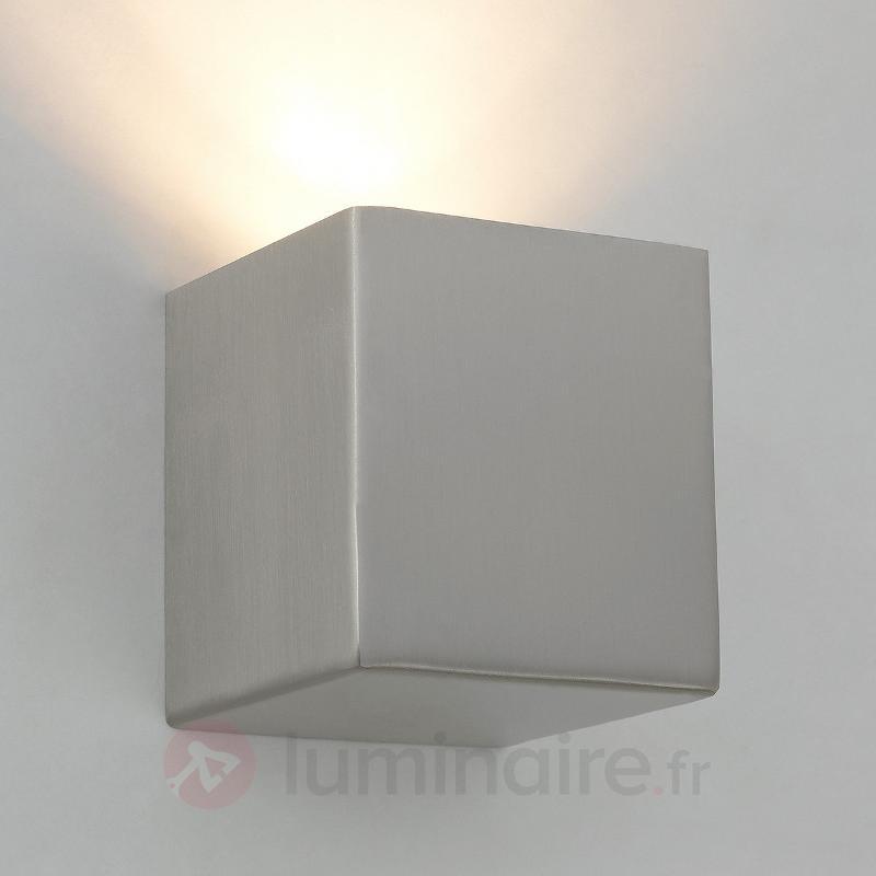 Viviana - applique en métal, nickel mat - Appliques chromées/nickel/inox