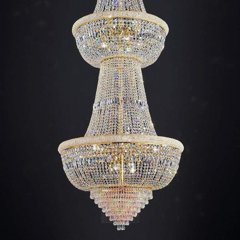 Gigantic OSAKA crystal chandelier, 335 cm - Pendant Lighting