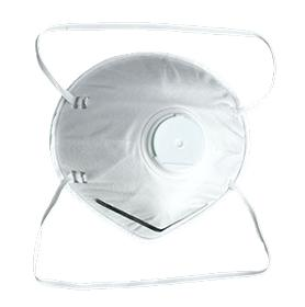 Dust mask wth valve - null