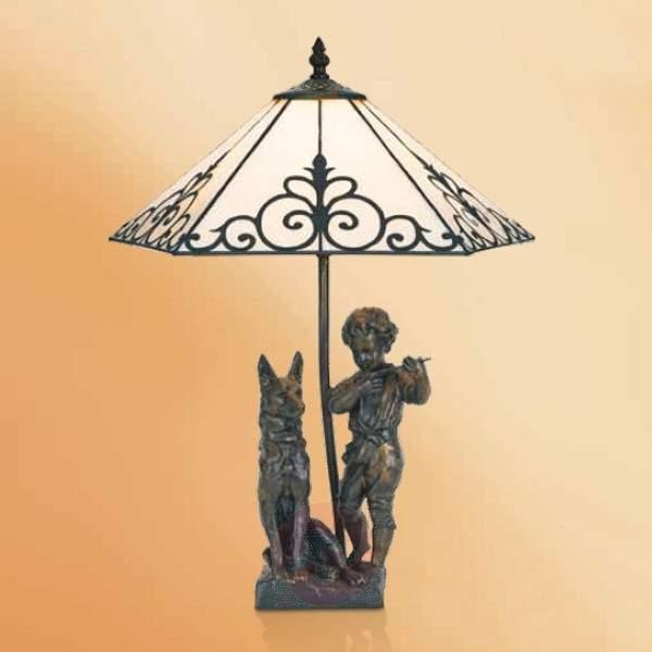 Exclusive table lamp Janett, 46 cm