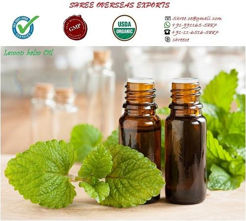 Organic Lemon Balm Oil - USDA Organic