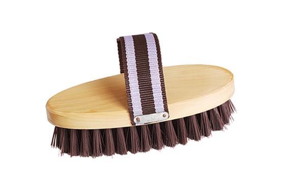 18.8*8.3cm horse dandy grooming brush;horse/pet body brush  - horse dandy grooming brush;horse/pet body cleaning brush