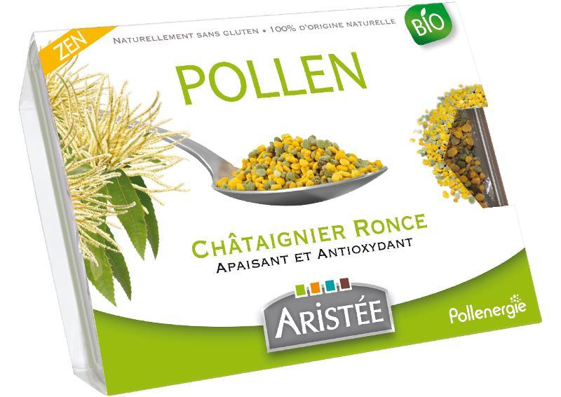 Pollen de châtaignier - Pollen biologique et surgelé