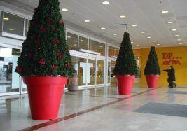 Pot Décoratif Rond - Espaces Verts
