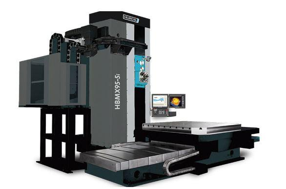 Horizontal-4-Axis-Machining-Center - HBMX 95-5i - Power and unbeatavle value - the ideal machine for medium sized 4-axis parts