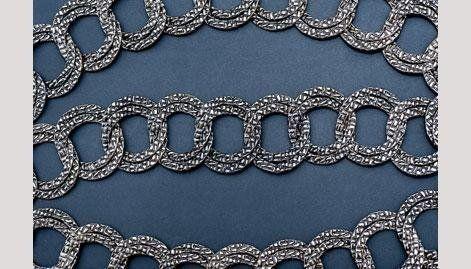 semilavorato placcato argento per bigiotteria - null
